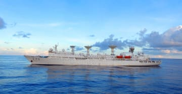 中国の遠洋宇宙観測船「遠望3号」、南太平洋の任務遂行海域に到着