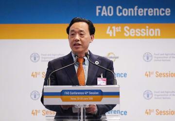 農業農村部の屈冬玉副部長、国連食糧農業機関の事務局長に選出