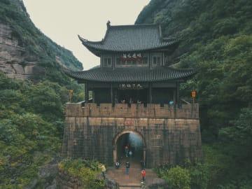 三国志屈指の難攻不落の砦「剣門関」 四川省広元市