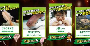「へんないきもの大王タイトルマッチ」公式サイトより
