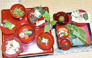 奥会津の「食」観光に 田植え後の祝い膳試食、三島で料理教室