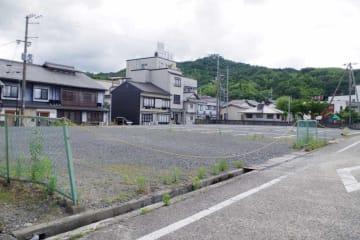 8月に着工されるマリオット・インターナショナルのホテル予定地(宮津市新浜、魚屋)