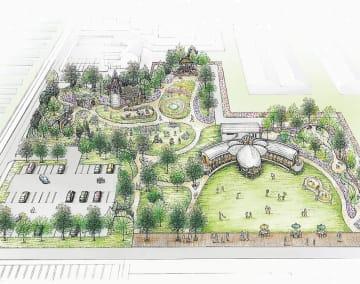 多目的交流広場のイメージ図