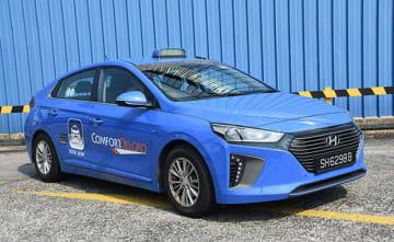 現代自はシンガポールでタクシーのシェア拡大を図っている(同社提供)
