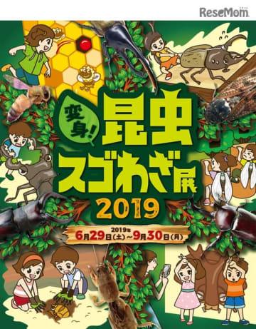 変身!昆虫スゴわざ展2019