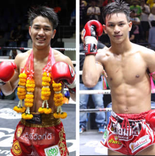 タイを主戦場とする福田海斗(左)がルンピニーのセミファイナルに登場