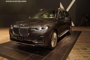 BMWの新しいラインアップ新型BMW X7発表 新型BMW X7