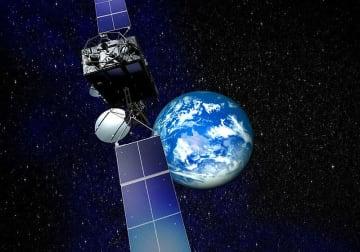 超高速インターネット衛星「きずな」(提供=JAXA)