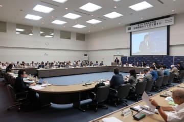 「日韓未来対話」では、日韓の研究者や国会議員が両国の懸案などについて話し合った