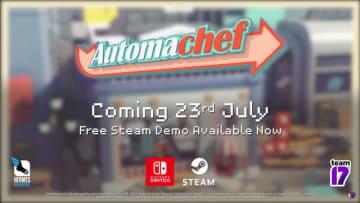 食品自動調理ライン制作ストラテジー『Automachef』7月23日に発売決定―日本語体験版も公開