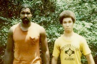 70年代後半、ウィリー(左)の全盛期頃の写真。右は40年来の親友のバッファロー氏