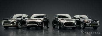 三菱自動車の米国SUVラインナップ(参考画像)
