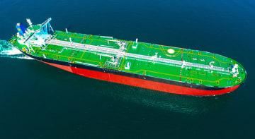 引き渡された中国国産の超大型スマートVLCCが出港