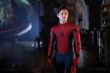 スパイダーマンと二代目キャプテン・アメリカが共演してたかも?(写真は映画『スパイダーマン:ファー・フロム・ホーム』より) - Columbia Pictures / Photofest / ゲッティ イメージズ