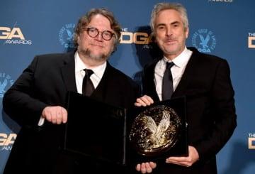 前回のDGA賞受賞者は『ROMA/ローマ』のアルフォンソ・キュアロン監督(右) - Frazer Harrison / Getty Images