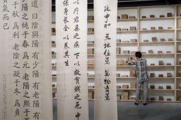 現代芸術と伝統医学を融合した展覧会、成都市で開催