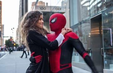 映画「スパイダーマン:ファー・フロム・ホーム」の場面写真 (C)2019 CTMG.  (C) & TM 2019 MARVEL.