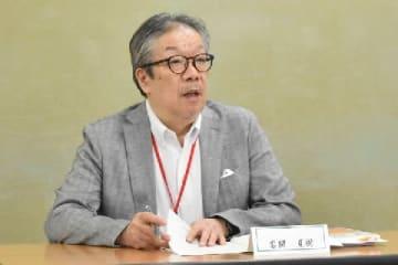 会見する岩間夏樹氏(2019年6月27日、弁護士ドットコム撮影、厚労省)