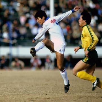 1983年1月1日天皇杯決勝戦ヤマハ発動機対フジタ工業戦の山本昌邦選手