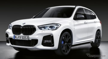 BMW X1 改良新型のMパフォーマンスパーツ
