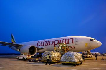 重慶初のアフリカ貨物機定期航路が開通