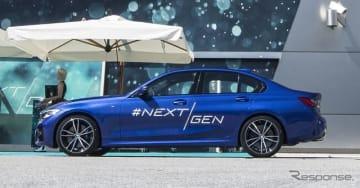 BMWの最新「レベル2」の先進運転支援システム搭載デモ車両