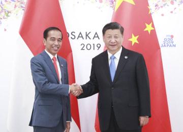 習近平主席、インドネシア大統領と会見 「一帯一路」共同建設を確認