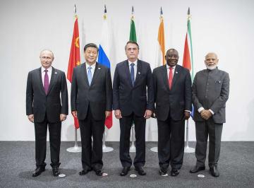 BRICS、大阪で首脳会議 多角的貿易体制の支持表明