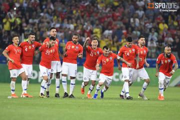 南米を代表するチーム同士の熱戦はPK戦の末チリが制す