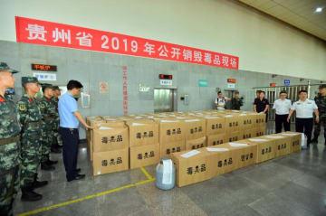 貴州省、押収麻薬1321キロを公開焼却処分