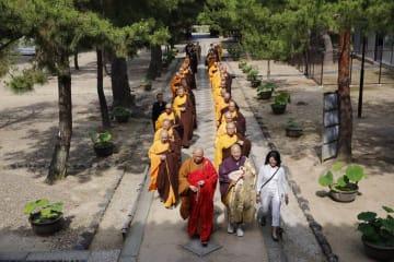 アモイ虎渓岩寺交流訪問団が来日、黄檗文化に関するイベントに参加