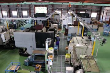 7月1日から本格稼働する赤木コーセイの新工場=平戸市田平町
