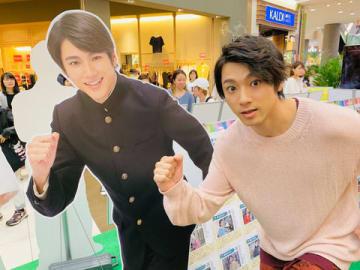 札幌市内のトークショーに登場した山田裕貴さん (C)NHK