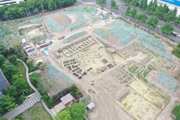 成都中心部で新たな明代王府跡見つかる 四川省