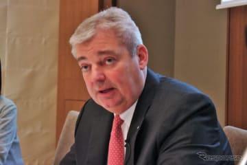 フォルクスワーゲングループジャパン(VGJ)の代表取締役社長のティル・シェア氏