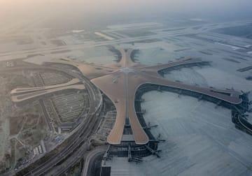 翼を広げた鳳凰 北京大興国際空港の主要工事が予定通り完工