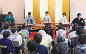 和楽器を中心とした発表を楽しんだ演奏会