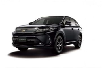 """ハリアー 特別仕様車 PREMIUM""""Style NOIR""""(2WD)<オプション装着車>。(画像:トヨタ自動車発表資料より)"""
