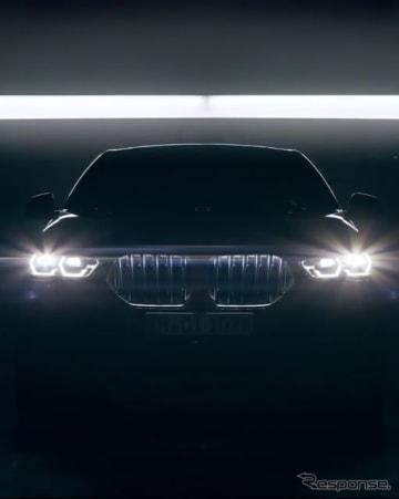 BMW X6 新型のティザーイメージ