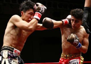 無敗の王者・鈴木(右)が12連勝を懸けて元WBC王者琢磨を迎撃