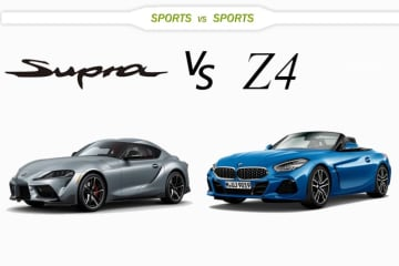トヨタ 新型スープラ vs BMW 新型Z4