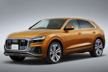 アウディ クーペスタイルのフルサイズSUV、Audi Q8を新発売 Audi Q8 外装