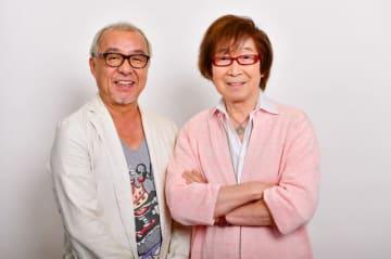 ホセ役の中尾隆聖、パンチート役の古川登志夫(C)Disney