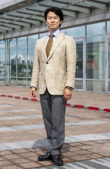 ロシアで活動するバレエ指導者の岩田守弘さん=5月、ロシア・ウラジオストク(共同)