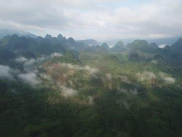 広東省初となる石漠化の修復に重点を置いた公園の建設を開始