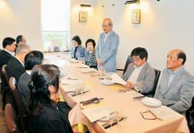 室蘭訪問団の歓迎会開催などを決めた日照市と友好の会の総会