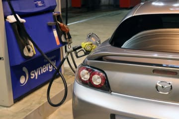 [燃費テスト・郊外路編]郊外路を走り再び満タン給油|マツダ RX-8 SPIRIT R[特別仕様車・2012年式]
