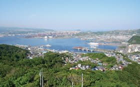 東洋経済新報社の「住みよさランキング」で道内首位に輝いた室蘭市