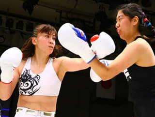 先月、アマチュアボクシングで実績のある韓国選手に勝利、今回はプロボクサー&ムエタイ王者を迎える