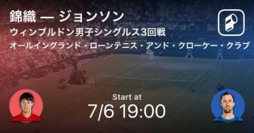 テニス 試合サマリー